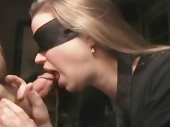tasty wife engulfing blindfolded