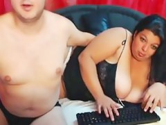 My chunky wife increased by I posing online
