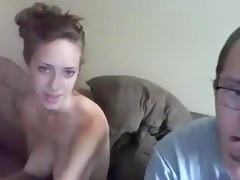 Sexy girl with big tits get a hard doggy fuck