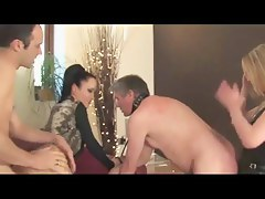 :- THE FEMDOM FEMDOM-GODDESS & THE Become man SWAPPERS -:ukmike clip