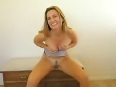 wife is exited with porn