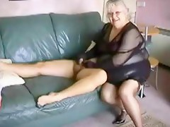 Amateur Granny Fucked by Hot Stud