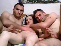 threesome on cam