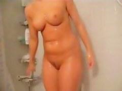 Spy cam Shower Videotape for My GF