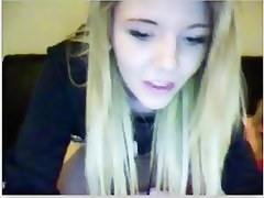 Teen blonde teases aloft chatroulette