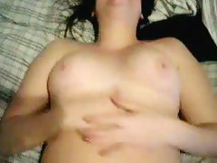 Masturbating together with coming exceeding shy GF