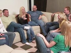 Party game leads to well-known non-professional fuckfest