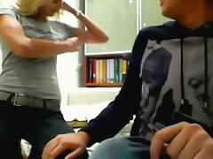 Legal Age Teenager pair and a Chap-fallen cam show