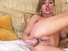 Making anal love with my big sex gewgaw