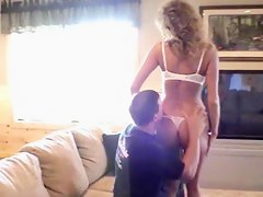 Swinger dilettante wife's 1st bring in clip