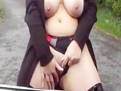Fucked stranger behind by a long load of shit