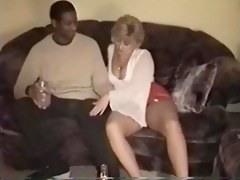 Swinger wife hammered by a swarthy bull