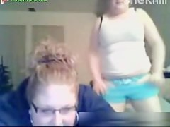 Chubby babes on a webcam hoax