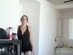 Girlfriend unannounced fuck end with cock juice flow POV