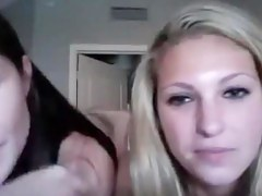 2 Superhot Gals Ragging With Their Uncover Bodies On Livecam