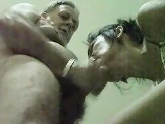 Mature married parents having some degraded sex