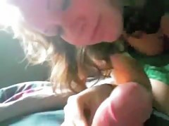 Teen gf plays with blarney and rides it