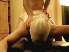 Amatur sex vid shows submissive join in matrimony