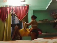 Indian Aunty megha rani self made videos in pantie ornament 2