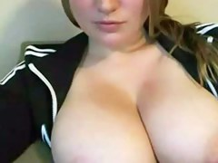 Cassandra - Effectuation with a spacious boobs livecam