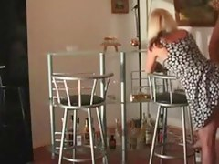 Dilettante german wench wife in wicked anal move