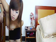 Asian girl stripping beyond everything webcam