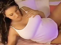 Pregnant teenie slut gives me a show