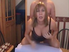 Big wife rammed foreigner without hope