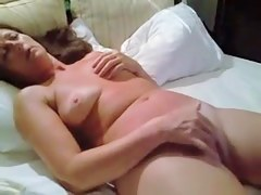 Nude whore wife masturbates for spouse