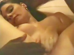 Brunette HairInterracial Team Fuck By BBC