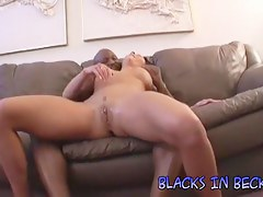 Becky bonks a darksome stranger plus squirts all over the place