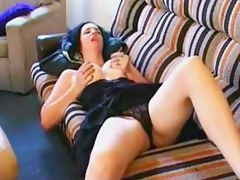 heavy climax from clitoris rubbing