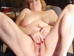 Blond mature housewife on cam - negrofloripa