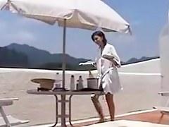 Exposed Wife to inn waiter