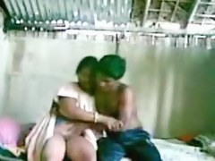 Juvenile indian couple shagging in a shack.avi