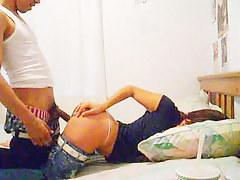 Latino couple has sexy enjoyment on webcam