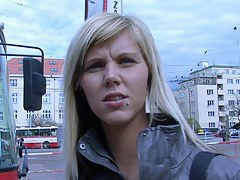 czech streets - ilona takes cash be expeditious for public making love