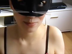 Sexy woman getting a beloved facial