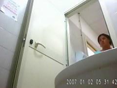 Voyeur video of my gf in toilet