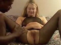 slim housewife takes 3 ebon creampies