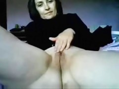 Mature amateur mature MILF on webcam