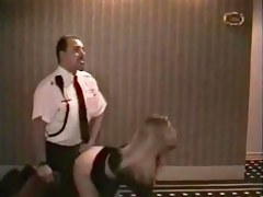 Swinger blond bonks security guard far hotel!