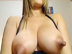 Very lengthy lactating nipps on hot Latin Chick