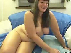 Shaking my broad in the beam butt and masturbating