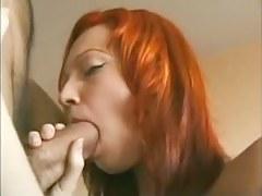 Redhead Teen gets anal