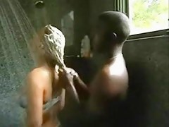 Interracial Shower