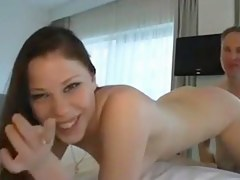 Mediocre anal in hotel room
