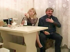 Russian Cutie Fucked by Ribald Old Chap missing to have sex with juvenile woman juicy crack