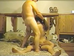 Indian wife taking exceeding two dicks