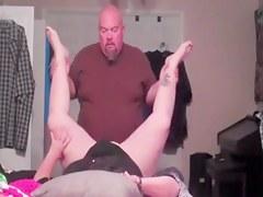 Bold panhandler fucking her wife